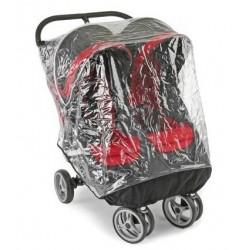 Plastico Lluvia Baby Jogger CITY MINI GEMELAR