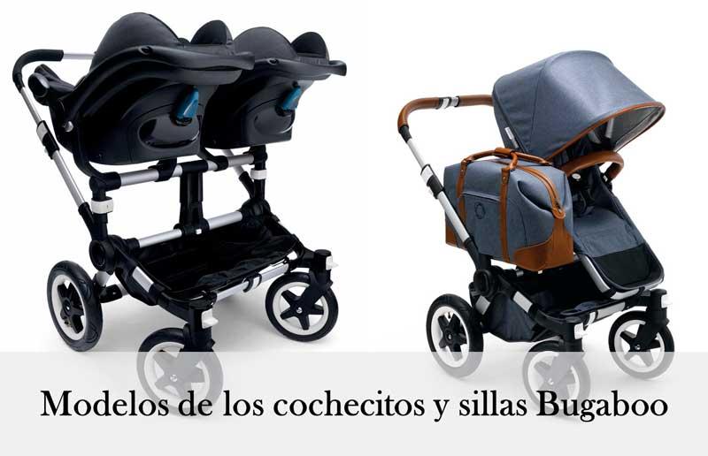 Modelos de los cochecitos y sillas Bugaboo