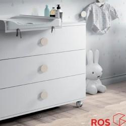 Cómoda tres cajones Ros Mini BOX
