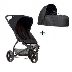 PACK Cochecito DUO Mountain Buggy MB Mini V3.1 con capazo Cocoon