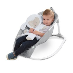 Hamaca mecedora Bright Starts Rocking seat Cuddle Lamb