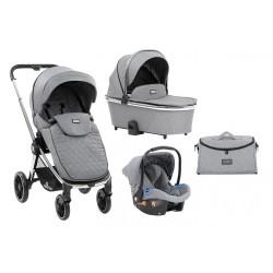 Cochecito Trio Vicenza Premium Grey
