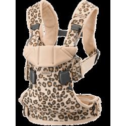 Mochila Portabebe Babybjorn One Algodón Edición Especial Leopard
