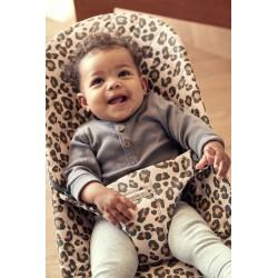 Hamaca Babybjorn Bliss Algodón Edición Especial Beige Leopard