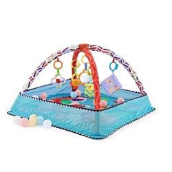 Área de juego Kikka Boo con 18 bolas Blue Animals