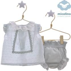 Conjunto 2 piezas Micolino Lunas