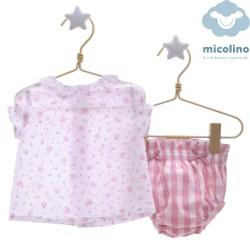 Conjunto 2 piezas Micolino Caramelo