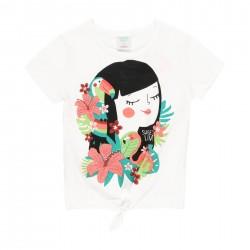 Camiseta punto Boboli con lazo