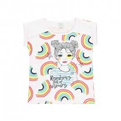 Camiseta punto Boboli arco iris