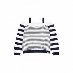 Jersey tricotosa listado Boboli