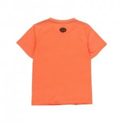 Camiseta punto Boboli pajaro