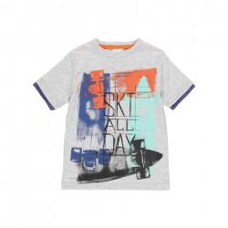 Camiseta punto Boboli skateboard