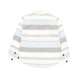 Camisa lino Boboli manga larga