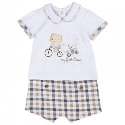 Conjunto camiseta y pantalón corto Chicco