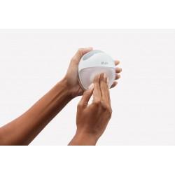 Sacaleches manual Elvie Curve de silicona blanco