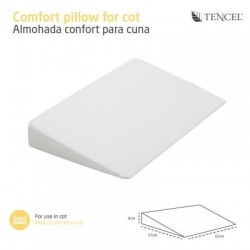 Almohada Confort Cambrass Minicuna y Cuna Liso 55x37 cms Propiedades