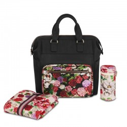 Bolso Cambiador Cybex Fashion Edition Spring Blossom Dark
