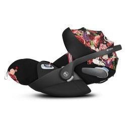 Silla Auto Cybex CLOUD Z i-Size Fashion Edition Spring Blossom Dark