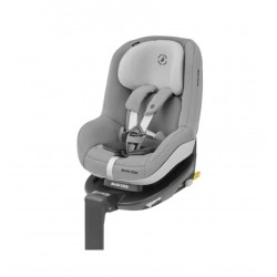 Pack Silla Auto Maxi-cosi Pearl I-Size 360º con base fix y cojín inteligente