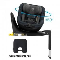 Pack Silla auto Maxi-Cosi MICA giratoria 360º con accesorios acontramarcha
