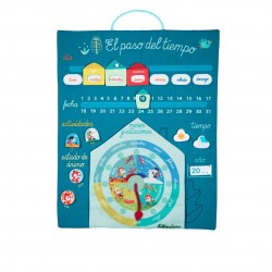 Calendario EL PASO DEL TIEMPO de Lilliputiens