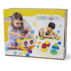 Caja de Formas 3 en 1 LalaBoom incluye 12 piezas