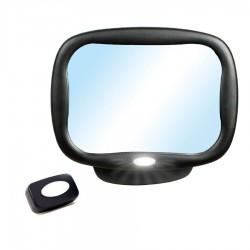 Espejo de seguridad con angulo ajustable 360º a contramarcha con luz led