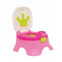 Orinal Olmitos corona 3 en 1 Pink