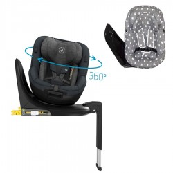 PACK Silla auto Maxi-Cosi MICA 360º con funda protectora