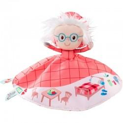 Marioneta reversible Lilliputiens CAPERUCITA ROJA