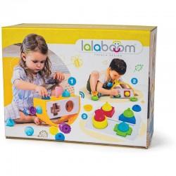 Caja para encajar formas y figuras Lalaboom