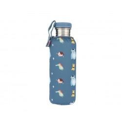 Botella Tutete Acero con Funda Little Monsters Personalizable 750ml