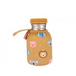 Botella Tutete Acero con Funda Animal Friends Personalizable 350ml