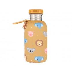 Botella Tutete Acero con Funda Animal Friends Personalizable 500ml