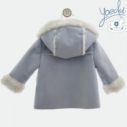 Abrigo con capucha Yoedu unisex
