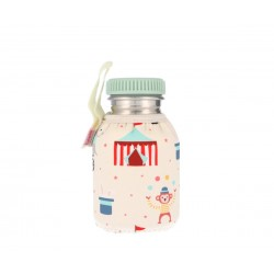Botella Tutete Acero con Funda Circus Personalizable 350ml