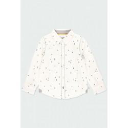 Camisa Boboli popelín estampada