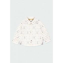 Camisa popelín Boboli estampada