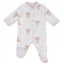 Pijama Chicco abierto delante