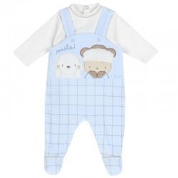 Body abierto hombro y pijama Chicco