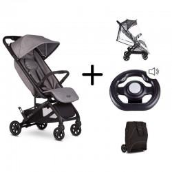 Silla Paseo Easywalker Mini Buggy GO con volante plastico y bolsa de transporte