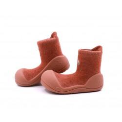 Zapato calcetin Attipas Basic Marrón