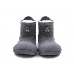 Zapato calcetin Attipas Basic Gris