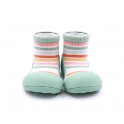 Zapato calcetin Attipas Rainbow Green