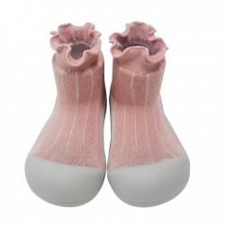 Zapato calcetin Attipas Pom Pom Rosa