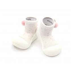 Zapato calcetin Attipas Shooting Star Cream