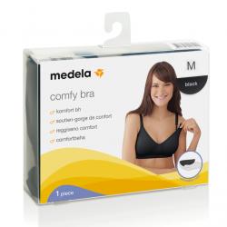 Sujetador de embarazo y lactancia Medela Comfy Bra Negro