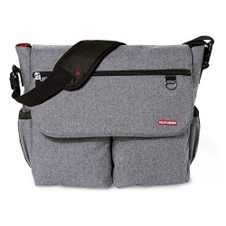 Bolso Skip Hop Dash Signature Heather Grey