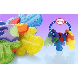 Mordedor pure Nuby ICE Gel llaves