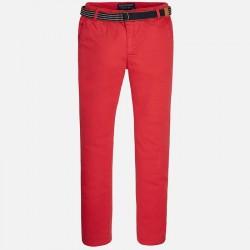 Pantalon chino Mayoral pique con cinturon